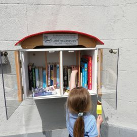 Collinstown's Little Free Library