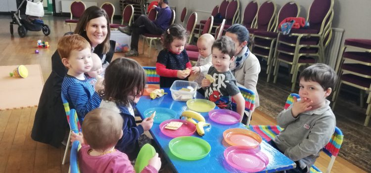 September and October at Toddler Group
