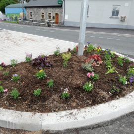 Tidy Towns Flower Beds
