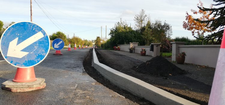Lough Lene Gaels – New Footpath to The Park