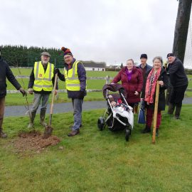 Delighted to have our 50 Fruit Trees Planted