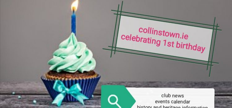 Collinstown.ie Celebrates One Year Online