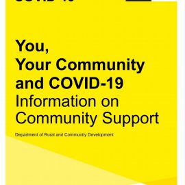 You, Your Community and Covid-19 Information on Community Support