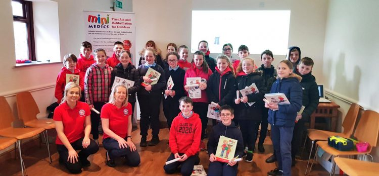 FIRST AID COURSE COMES TO COLLINSTOWN SCHOOL