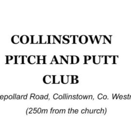Join us at Collinstown Pitch and Putt