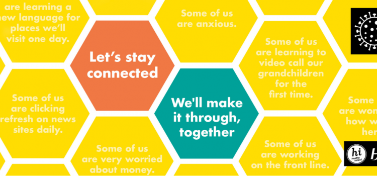 In This Together Campaign – there's something for everyone here, have a read